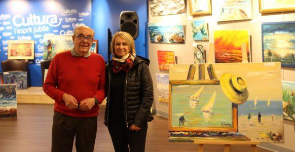 Exposition René Boutang au Cultura de Brive