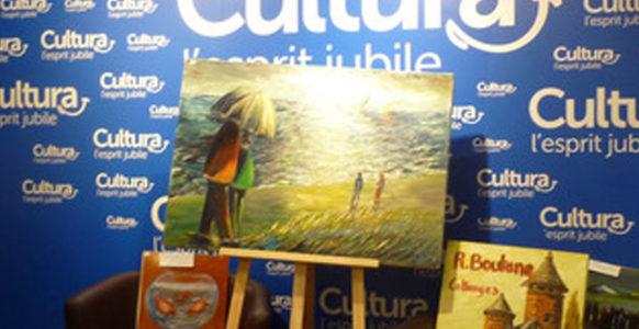 René Boutang art private viewing in Cultura Brive