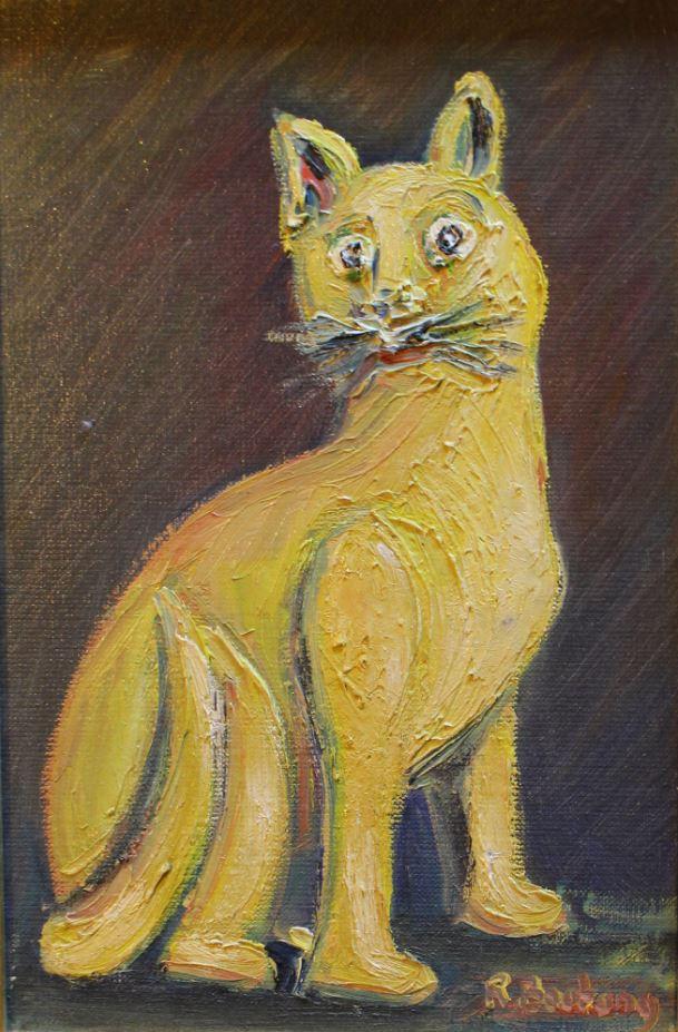 My yellow cat
