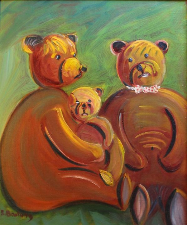 Release of Tedy bears in Corrèze