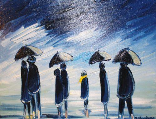 Tribute to umbrella