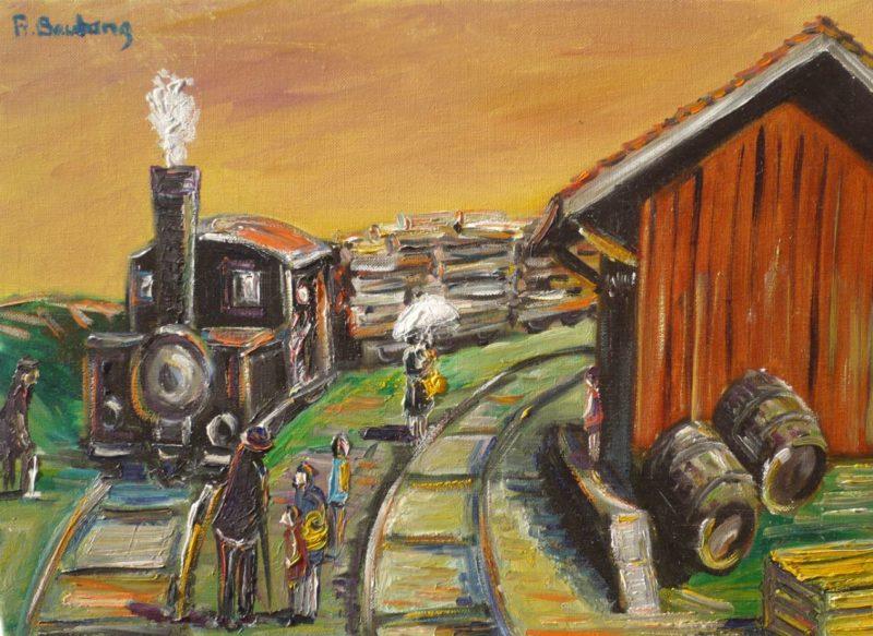 Train de marchandises à Collonges