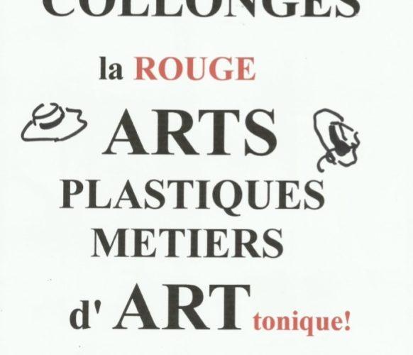 Affiche 2018 Fête des Arts plastiques et des métiers d'art