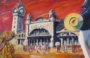 Vente œuvre d'art René Boutang Collonges la Rouge