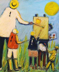 Fête de la peinture in Collonges