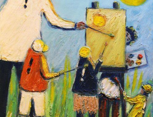 Fête de la peinture à Collonges