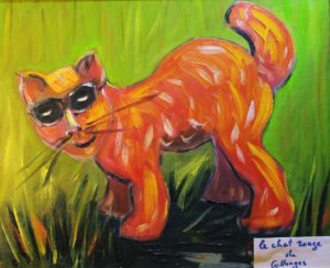 The cat from Collonges