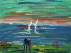 Artwork for sale René Boutang Collonges la rouge Seaside 7