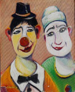 Artwork for sale René Boutang Collonges la rouge The enemy brothers