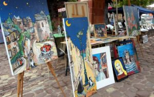 Arts festival 2017 Collonges la Rouge