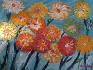 Artwork for sale René Boutang Collonges la rouge Petites têtes