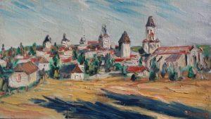 Vente œuvre d'art René Boutang Collonges la Rouge Martel en Quercy Coté sud