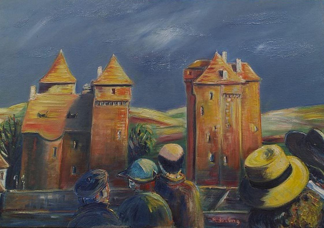 Artwork for sale René Boutang Collonges la rouge Curemonte