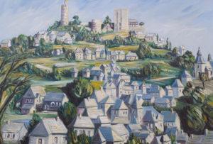 Artwork for sale René Boutang Collonges la rouge Turenne reigns