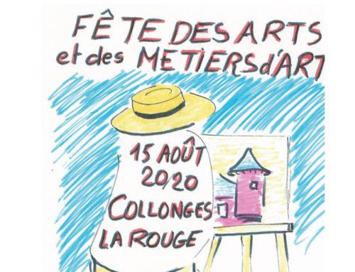 Annulation Fête des Arts et des métiers d'Art 2020