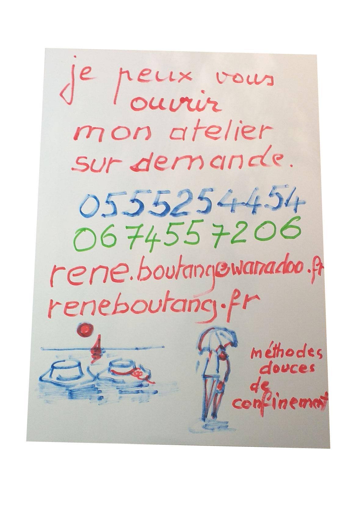 L'atelier René Boutang reste ouvert sur demande