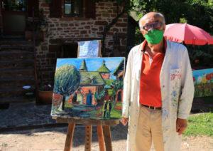 Peinture à l'huile réalisée en deux heures sous la caméra de France 3