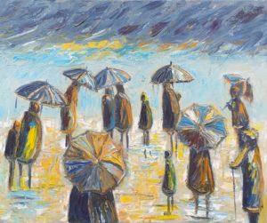 The sun shines again artwork for sale René Boutang Collonges la Rouge