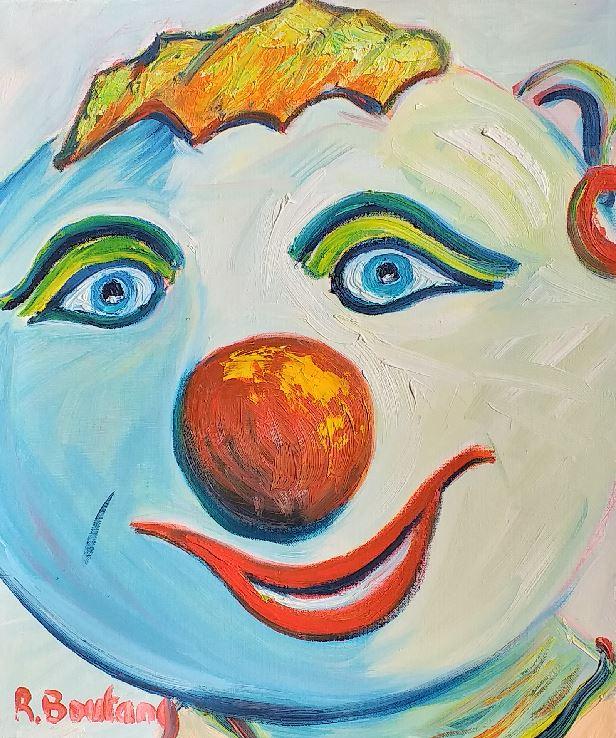 Artwork for sale Mon ami belle gueule René Boutang Collonges la rouge
