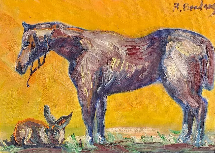 Vente peinture Respect René Boutang Collonges la rouge