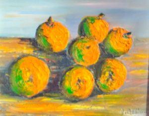 Vente tableau fruits René Boutang Collonges la Rouge