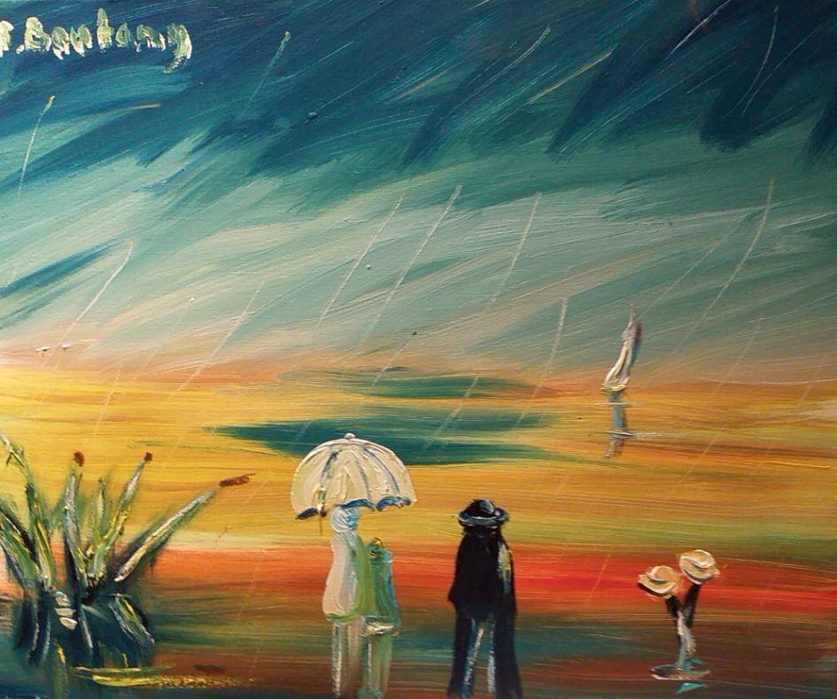 Oeuvre d'art en vente René Boutang L'attente du retour