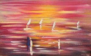 Vente oeuvre d'art de René Boutang Les couleurs de la nature