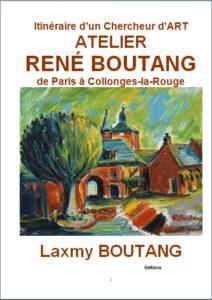 Livre Itinéraire d'un chercheur d'art Atelier René Boutang de Paris à Collonges la Rouge